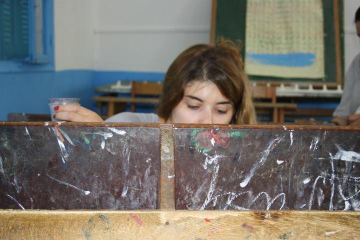 Travaux de réhabilitation de l'école Borj touil