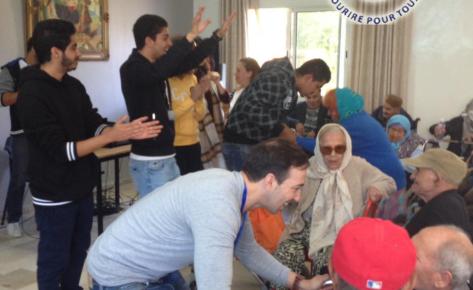Action Maison de retraite Manouba